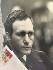 Gary Bennett during his 1983 trial. Bennett, the topic