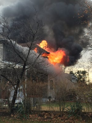 """Afire gutted a home on Second Street Christmas Eve morning. In a news release, Borough Police Chief Matthew Geist said the cause of Sunday'sfire has not yet been determined and """"is still under investigation by the Middlesex County Fire Marshall's Office and the Middlesex Police Department."""""""