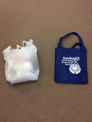 A resolution to utilize reusable grocery sacks can