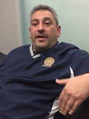 Retired Mount Vernon Police officer Matt Frank, chairman