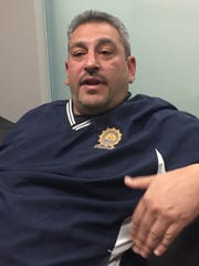 Retired Mount Vernon Police officer Matt Frank, chairman of the  Westchester B.L.U.E. Foundation board of directors.