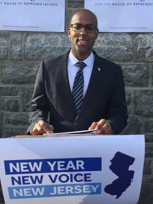 William Cunningham of Vineland announced his candidacy for the 2nd Congressional District on Jan. 16, 2018