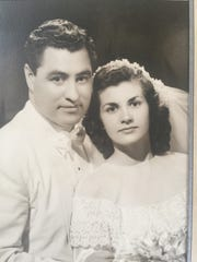 Emma and Joe Mora, founder of Chico's Tacos, married in 1949.