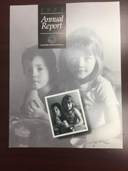 A 1988 annual report from the from the United Way of