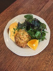 The Benedict Country Style is a favorite at Brown Hound Bistro.