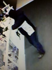 Appleton police are looking for a suspect after a robbery