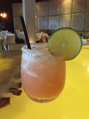 The Diabolita ($13) at Cafe Lurcat and Bar is mixed with Lurcat-infused habanero tequila, Licor 43, ginger, lime, blood orange and pomegranate.