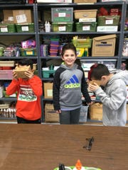 Students at Lincoln School in Pompton Lakes used virtual
