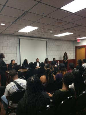 Panel members shared their experiences and opinions on colorism.