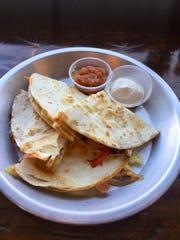 Hummusdilla at Harvest Cafe in Sheboygan.
