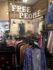 A sampling of the many apparel items sold at Josie's Boutique in Powell.