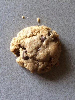 Whole-wheat and rye flours make this chocolate chip cookie not only healthier but also tastier.