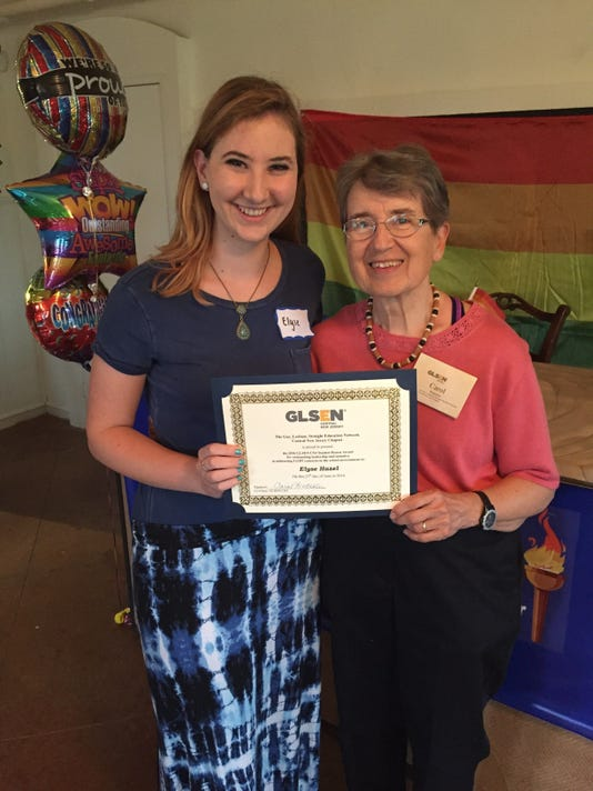 Students can now apply for GLSEN Central NJ Honor Awards PHOTO CAPTION