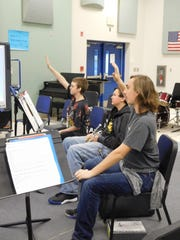 "Students offer thoughts on the emotions conveyed through ""Eagle Mountain Overture."""