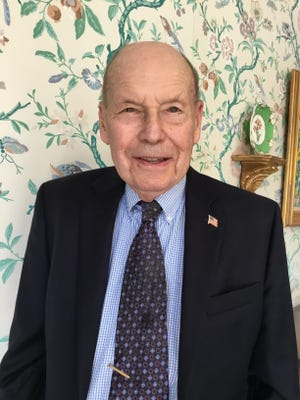 John Archibald, Class of 1943, grew up in Middlebush, a small village that is part of Franklin Township, a few miles from campus.