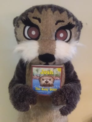 Say hello toJosh, the Otter, who this school year said hello to more than550 children from 14 preschools in the Vero Beach area.
