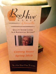 To contact owner Kelly Lohman about setting up a tour of the BeeHive Homes facilities, call 865-809-2881.