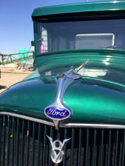 Robert Snodgrass restored this 1934 Ford truck but