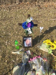 A memorial to Matthew Otto is placed in the 2800 block