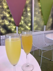: Sip on mimosas and bellinis while brunching at The Hideaway, a retro cafe located at Waterworks.