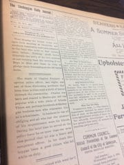An article as it appeared Sept. 7, 1895, in The Sheboygan