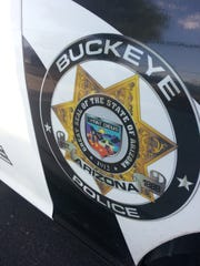 Buckeye Police Department logo.
