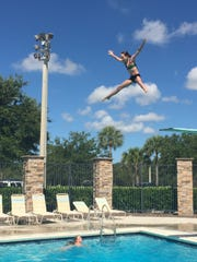 The high dive at Sun-N-Fun Lagoon in Naples