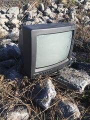 Violators caught illegally burning, dumping TVs or