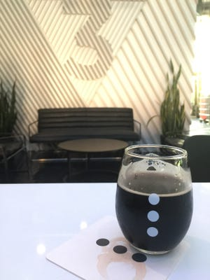 3 Points Urban Brewery's Orca oatmeal stout.