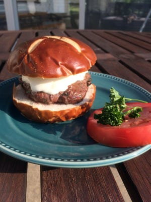 Gremolata burgers give an American classic a tasty Italian spin.