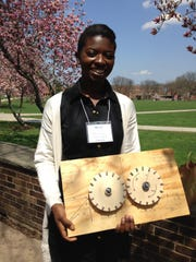 RVCC Engineering student Esther Hiamang earned Second