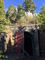 The Wickes Tunnel is an abandoned railroad tunnel in