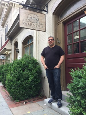 Marcello De Feo is putting the finishing touches on the interior of Valente's Italian Specialties in Haddonfield. The market will sell fresh pastas, breads, cheeses, prepared Italian dishes and imported Italian foods.