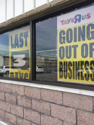 The Lafayette Toys 'R' Us will close its doors after operating hours on Wednesday, according to a manager for the local store.