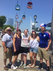 The Wierzbicki family came from the La Crosse area to see Journey perform at Summerfest.