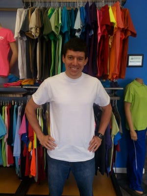 Tom Rauen, owner of Envision Tees