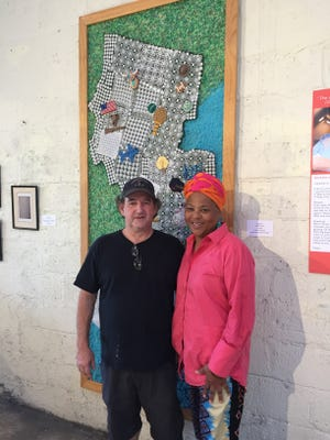 "Karen ""Queen Nur'' Abdul Malik coordinated the 'Tastefully South Jersey' exhibit with curator and artist Philip J. Carroll for Perkins' Art Folklife Center."