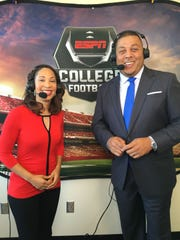 Tiffany Greene will call HBCU football games this season on ESPN with Jay Walker.