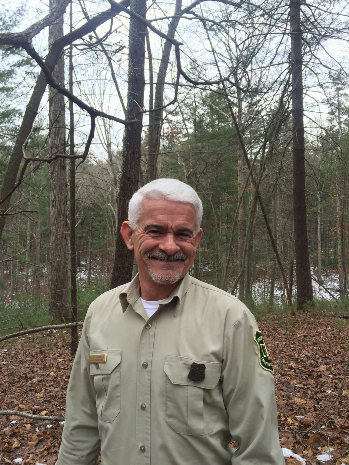 Allen Nicholas is the Supervisor for the National Forests