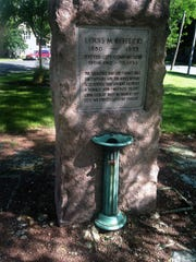 A 1930s-era monument in honor of Louis Kotecki still stands in a small triangular park on Windlake Avenue, a block south of Lincoln Avenue  on Milwaukee's south side.