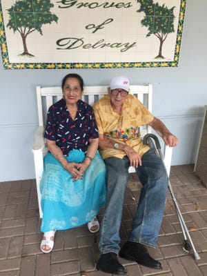Marina Kvint recently celebrated her 68th wedding anniversary with her 96-year-old husband, Girsha.