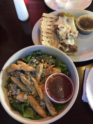 A sampling of cuisine from The Grille 2 in Chillicothe. The restaurant closed until further notice when an employee tested positive for COVID-19.