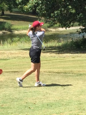 Silver Lake's Tori Smith is one of four returning players from the Eagles' third-place finishing team at last year's Class 3-2-1A state tournament.