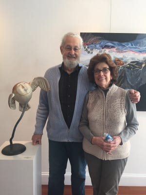 Bill and Johanne Pesce are co-owners of Windsor Whip Works Art Center.