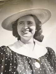 Frederika Allen Albee was seldom seen without a smile