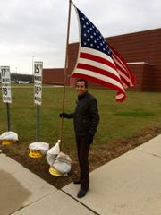 Carlos Munoz Sr. of Fond du Lac voted Tuesday for