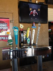 Johnny Malloy's has several craft beers on tap and many more bottled beers including gluten- free beers and ciders.