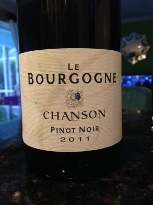 Domaine Chanson Bourgogne Pinot Noir, from Burgundy France, is $12.99 at Bleu Provence.