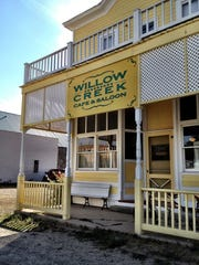 A stop at the Willow Creek Cafe and Saloon is essential to any visit to the tiny town south of Three Forks.
