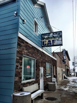 Big Sky Cafe is at 13 West Main Street in Cut Bank.